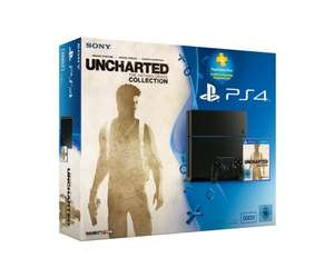 PlayStation 4 Konsole (500GB) inkl. Uncharted:The Nathan Drake Collection+90 Tage PSPlus Code [CUH-1216A]@amazon/mediamarkt/gamestop für 349€ oder 369€ mit 1TB(ohne PS+)@Saturn