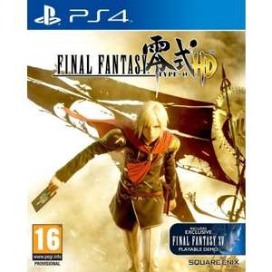 (thegamecollection) Final Fantasy Type-0 HD (PS4) für 16,67 EUR inkl. VSK (VGL: 27euro)