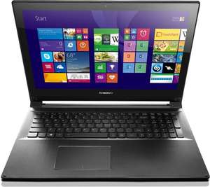 "Lenovo Flex 2 15 PRO : i5-5200U, 8GB RAM, 256GB SSD, 15,6"" Full-HD, Touch"