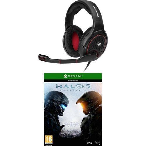 Sennheiser G4ME One Headset schwarz + Halo 5: Guardians (Xbox One) für 165,92 € @Amazon.fr