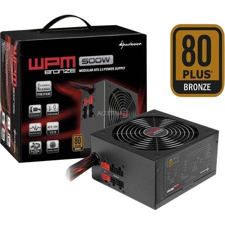 """Sharkoon Netzteil 500 Watt """"WPM500"""" Bronze für 44,99 @ZackZack"""