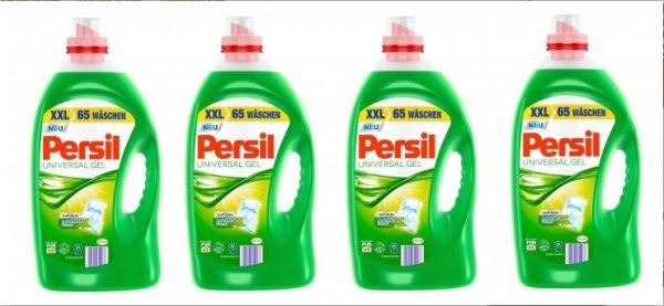 Abgelaufen (Preis wurde erhöht) [Weg-ist-weg.com] - Persil Vollwaschmittel flüssig 4x65 WL -