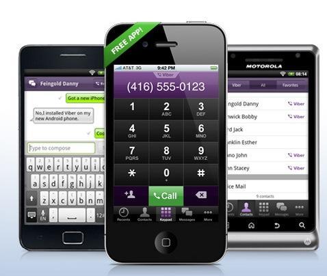 Kostenlos Telefonieren mit der Viber App