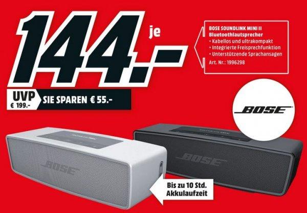 [Lokal Schwerin] Bose SoundLink Mini II für 144€ im Media Markt