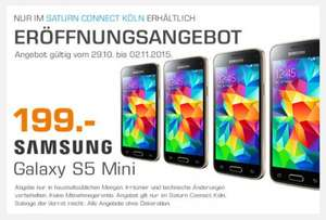 [lokal] Samsung Galaxy S5 mini - 199€ Saturn Köln