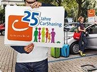 25 Euro Fahrtguthaben bei cambio CarSharing für Neukunden