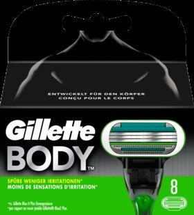 Gilette Body 8 Stk. Klingen bei dm Filiale und online
