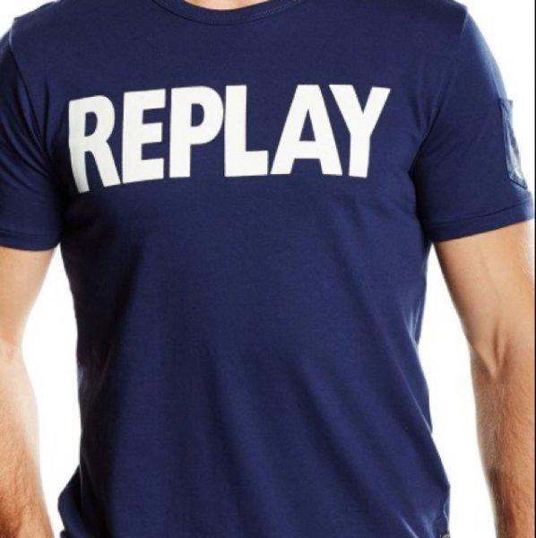 REPLAY Herren t-Shirt (Amazon Prime) 21€ -10% Gutschein & 5% Qipu=17,85€