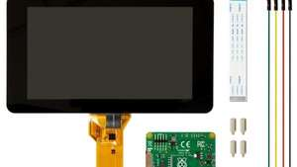 """[ELV] Offizielles Raspberry Pi 7"""" Touchscreen Display + 5V/2,1A Netzteil als Füllartikel. Deutlich unter Idealo"""