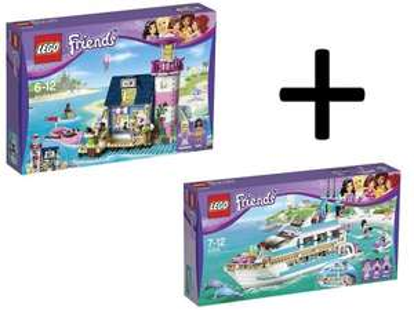 [toysrus Promo] Lego Friends Yacht 41015 + Friends 41094 Heartlake Leuchtturm