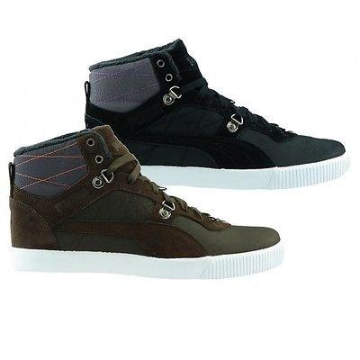 NEU PUMA Sneaker Schuhe Tipton Winter Winterschuhe Stiefel Boots schwarz braun