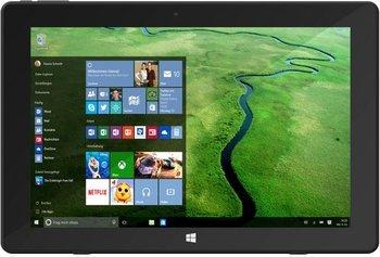 TrekStor SurfTab twin 10.1 2in1 Tablet, HD IPS-Display, Intel Atom Quad-Core, 2GB RAM, 32GB Flash, Windows 10 inkl. Vsk für 164,00 € > [brands4friends.de]