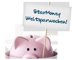 Satte Rabatte beim StarMoney Weltspartag auf alle Produkte