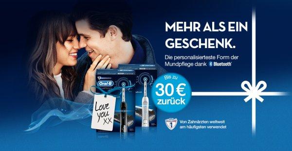 Weihnachtspromo: Elektrische Zahnbürsten von Oral-B mit Geld zurück - Bonus