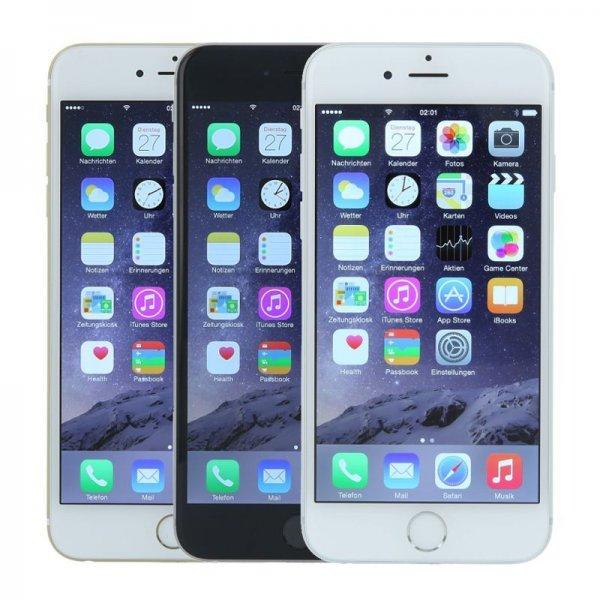 [ebay] Apple iPhone 6 16GB in Silber/Grau - Refurbished - für 449€