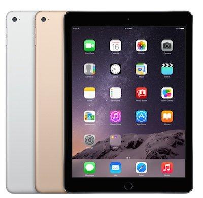 [eBay] Apple iPad Air 2 64GB WiFi generalüberholt in spacegray, silber und gold für 449€