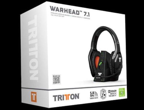- 56% sparen Tritton Warhead 7.1 Dolby Wireless Surround Headset für Microsoft XBOX 360