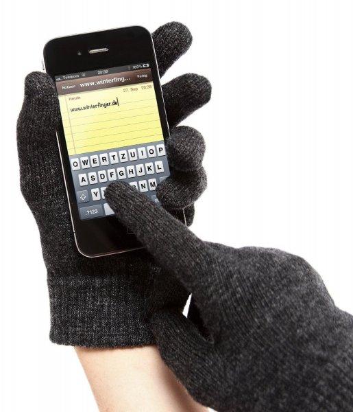 """""""Winterfinger"""" Lammwolle Smartphone Handschuhe für 17,96 statt 29,95 (40% Rabatt)"""