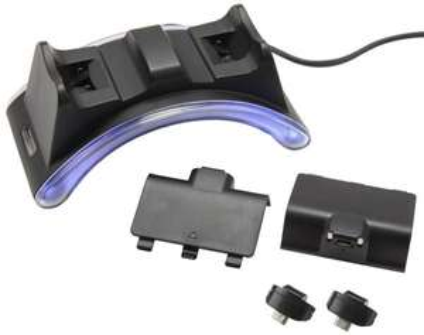 (17,99 Euro) Gioteck Dual Ladestation + 2 Akkus für Xbox One/Ps4 Controller