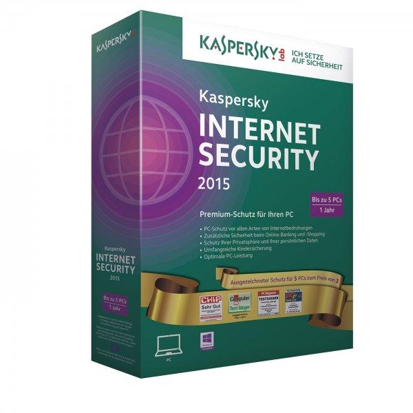 Kaspersky Internet Security 5 PCs 1 Jahr