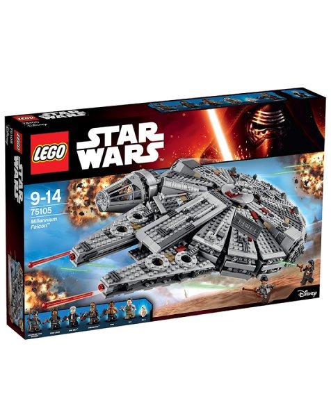 Tausendkind.de, als Neukunde, LEGO 75105 Star Wars: Millennium Falcon, 127,49€ (19,11€ in Paybackpunkten)