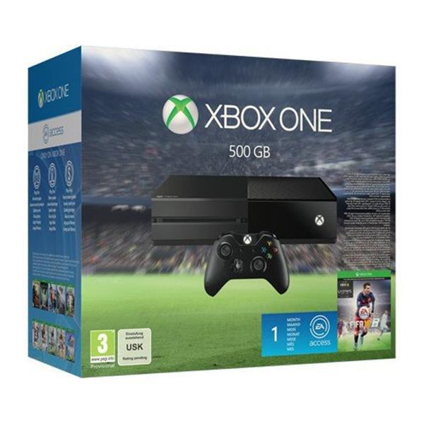 Xbox One 500GB incl. Fifa 16 + 1 Monat EA Access für 309€ incl. Versand