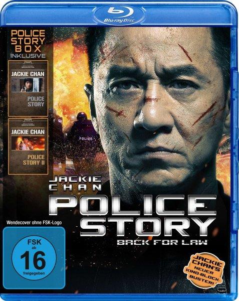 Jackie Chan - Police Story Box Blu-ray