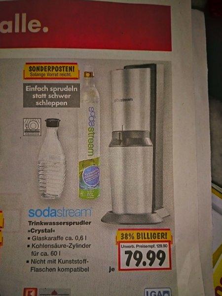 Kaufland (nrw?) sodaStream crystal