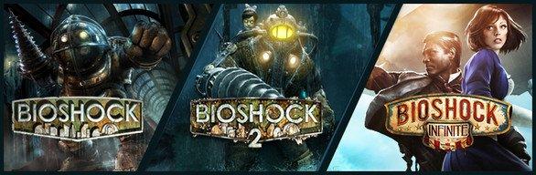 [Steam] Bioshock Tripple Pack (Teil 1 - 3) 8,99€
