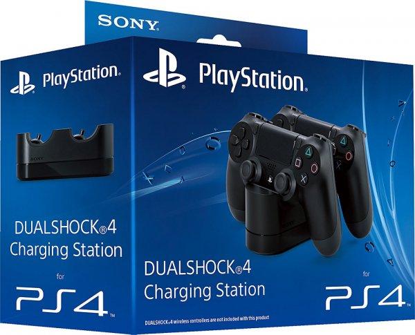 Sony PlayStation PS4 - DualShock 4 Ladestation/Charging Station in schwarz für 23,5€(ggf. 21€) statt 29€ @Schwab.de