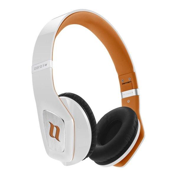 [Amazon.de-Prime] Noontec MF3122(B) Zoro HD II On-Ear-Kopfhörer weiß/orange