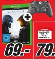 [Lokal? Media Markt Osnabrück] Halo 5 + Xbox One Controller - 69€