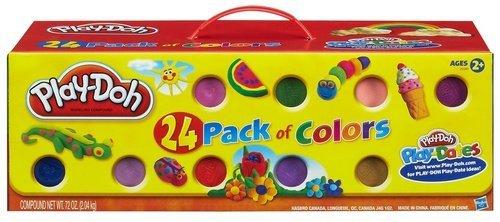 Hasbro 20383E25 - Play-Doh 24er Pack - Knete @amazon 14,99 Prime