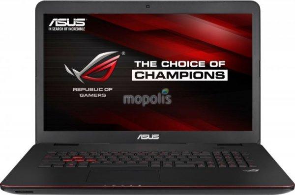 Asus GL771JW-T7080T Gaming Notebook - Intel Core i7-4720HQ 2.60GHz (Win10/GTX 960M) für 1211€ statt 1491€@NOTEBOOK.de