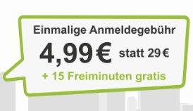 DriveNow Anmeldung und 15 Freiminuten für 4,99€