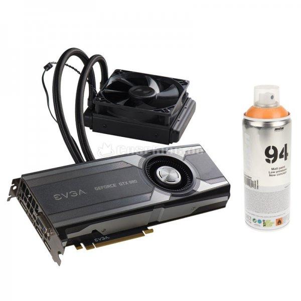 Caseking GeForce GTX 980 Hybrid & MTN Orange Sprühfarbe Halloween Special 482,99 statt 675€