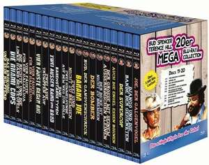 [Bücher.de] Bud Spencer & Terence Hill - 20er Mega Blu-ray Collection (Blu-ray) für 71,99€ inc. Versand+3% Qipu