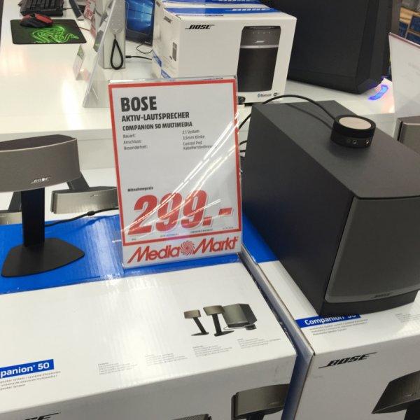 [Lokal Dresden Media Markt] Bose Companion 50 für 299