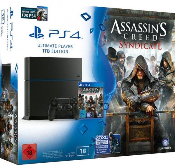 [ebay] Playstation 4 / PS4 CUH-1216 - 1TB - AC Syndicate + Watch_Dogs Bundle für 359,90€