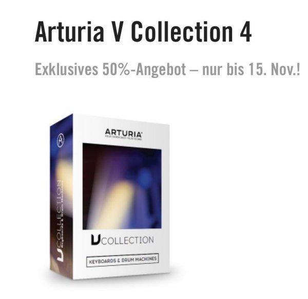 Arturia V-Collection 4 nur 199€ !!!! Nur Bis zum 15.11.2015!!