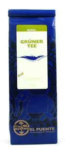 [Amazon.de-Plusprodukt] El Puente Grüner Tee Nepal 7er Pack (7 x 100 g Packung) ab 3,94€