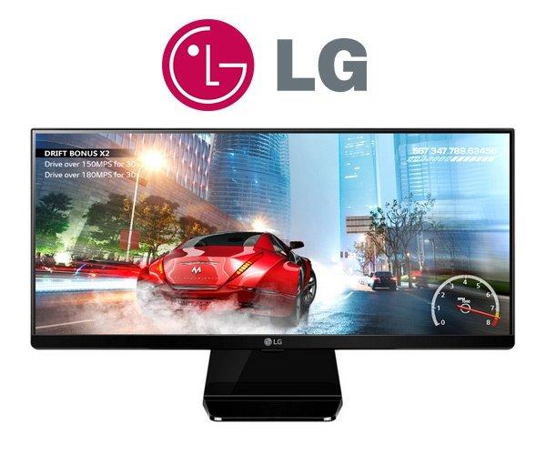 [One] LG 29UM67-P 73,7 cm (29 Zoll) Monitor (HDMI, DVI, 5ms Reaktionszeit) 2560 x 1080 TFT-LCD AMD Freesync