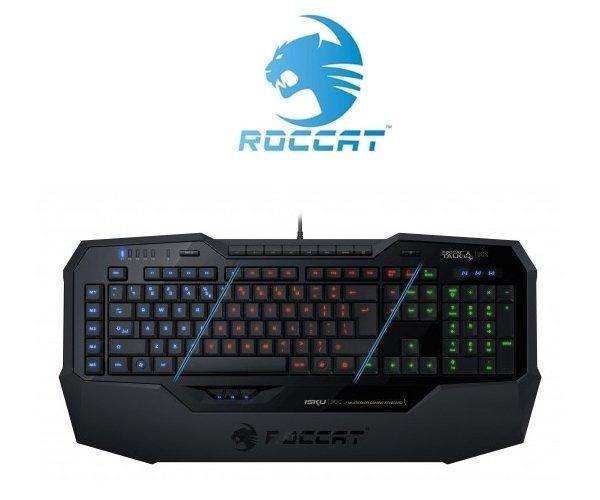 [One] Roccat Isku FX Multicolor Gaming Tastatur schwarz