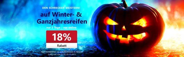 ATU Online Reifen kaufen + 18% Rabatt + 10€ Gutschein Bestpreis ( bis 40€ Ersparnis - 4 Reifen )