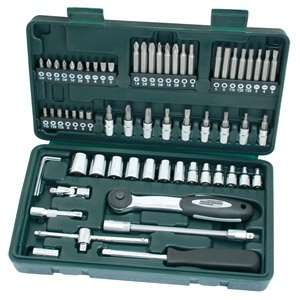 [Real]  Brüder Mannesmann Werkzeuge, Steckschlüsselsatz 65-teilig