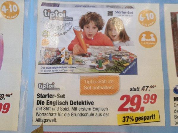 """@Rofu, tiptoi Starterset """"Die Englisch Detektive"""" 20,5% unter idealo"""
