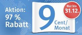 (WEB.DE und GMX) Toplevel-Domains für 1,08€ für 12 Monate