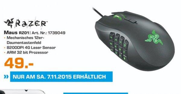 (Loka) RAZER Naga Gaming Maus für 49€ @ Saturn Wuppertal Tagesangebot 07.11