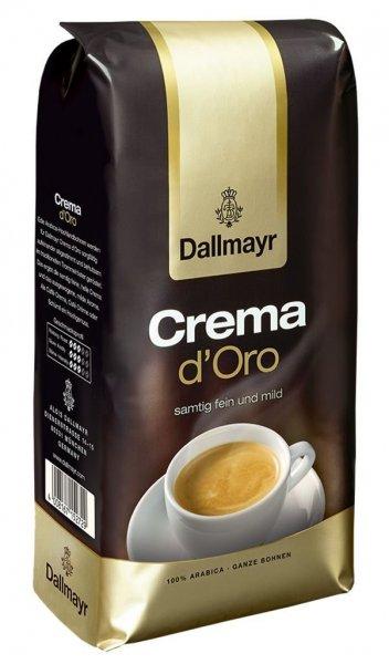 [Amazon.de-Prime-Sparabo] Dallmayr Crema d'oro mild und fein oder Intensa in Bohne (1 x 1000 g Beutel) ab 8,49€