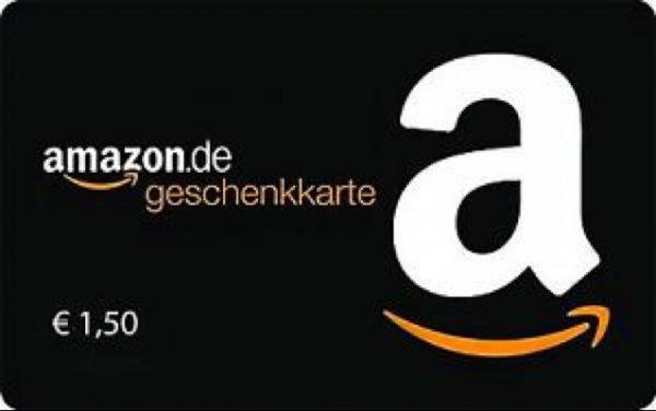 1,00€ Amazon Gutscheincode 1,50€ [Ebay]